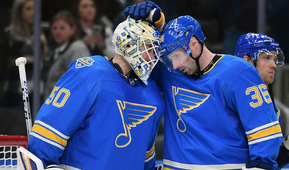 The St. Louis Blues are starting to find their Stanley Cup form. (Keith Gillett/Icon Sportswire)
