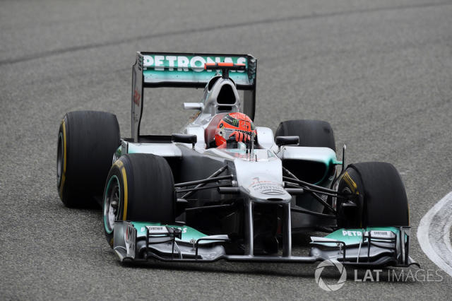 "Mercedes AMG F1 W03 (2012) <span class=""copyright"">Sutton Motorsport Images</span>"