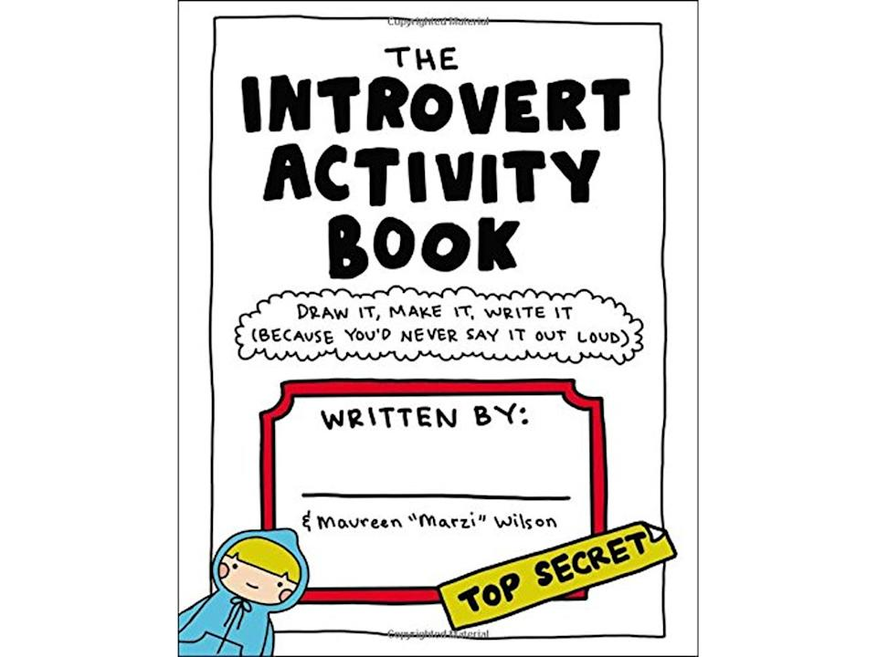 Best anxiety journals The Introvert Activity Book