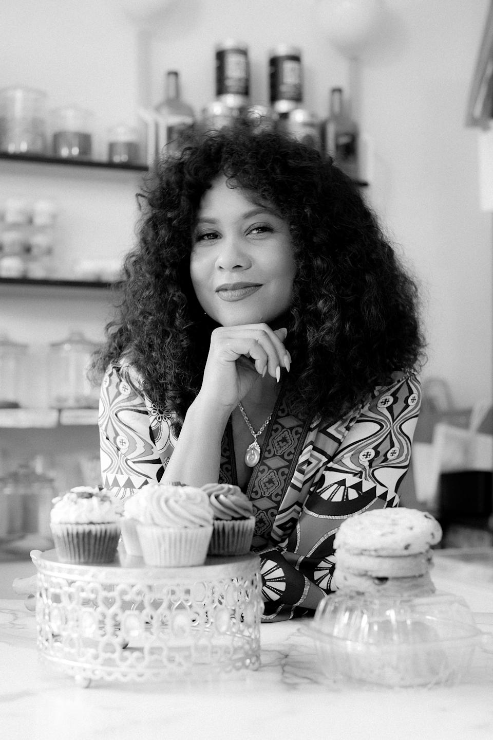 Media Personality and Entrepreneur Angela Yee at The Bakery on Bergen