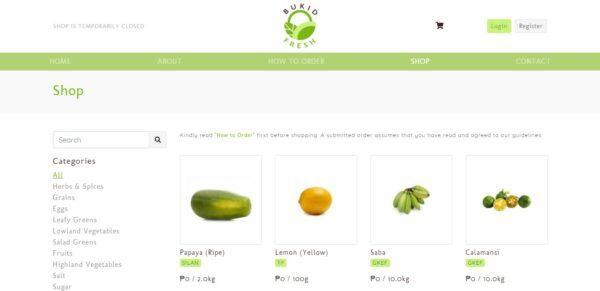 Online Grocery Delivery in the Philippines - BukidFresh