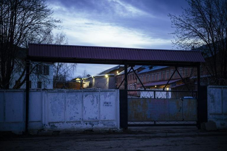 The penal colony where Navalny was reportedly transferred in the city of Vladimir