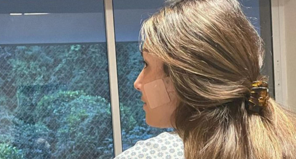 Patricia Poeta was discharged after emergency surgery (photo: reproduction / instagram @patriciapoeta)