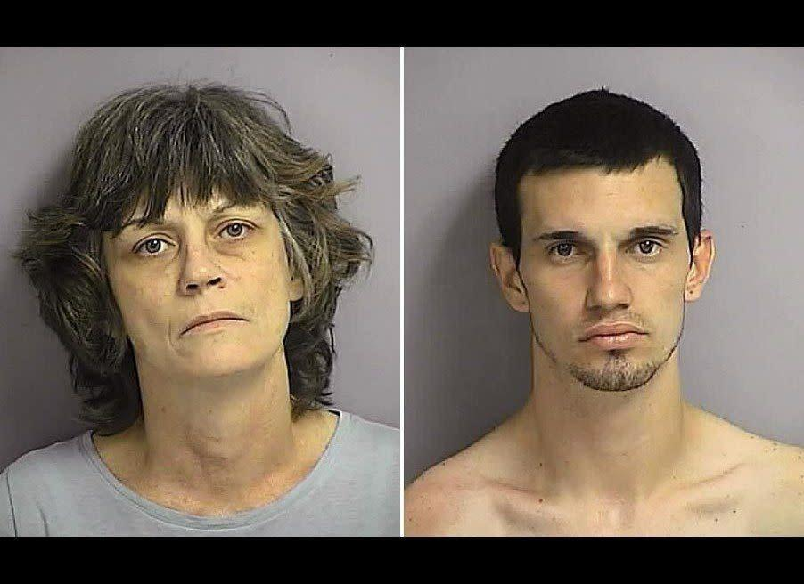 A Florida mother served as the getaway driver when her 20-year-old son robbed a convenience store, according to authorities. Police in St. Cloud say Cindy M. Willison, 47, waited in the parking lot of a Cumberland Farms store and picked up her son, Angelo J. Palmieri, after he held up the shop on March 23.
