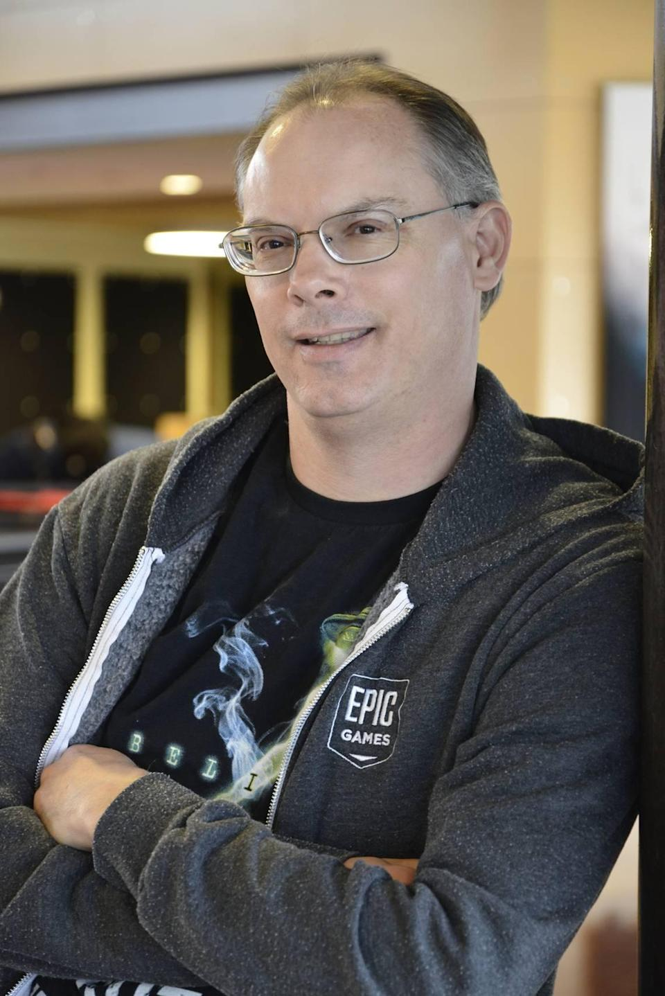 """Tim Sweeney is the founder and CEO of Epic Games, the Cary, NC-based company behind the """"Fortnite"""" video game. Sweeney is one of North Carolina's most prolific conservationists, saving nearly 50,000 acres of forest land."""