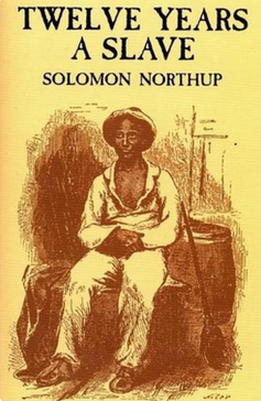 Original book cover reproduction of 12 Years A Slave by Solomon Northup