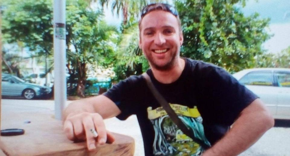 Damien Roadley, 38, left for an overnight camping trip at the top of Blue Knob Mountain near Nimbin in NSW's far north last Wednesday but hasn't been heard from since. Source: NSW Police