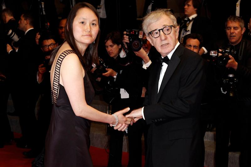 Woody Allen and his wife Soon-Yi Previn (AP)