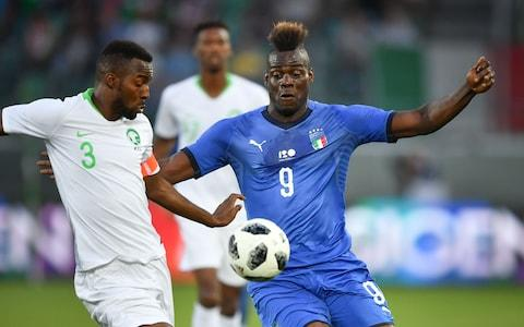 Saudi Arabia lost a pre-World Cup friendly to Italy - Credit: Getty Images