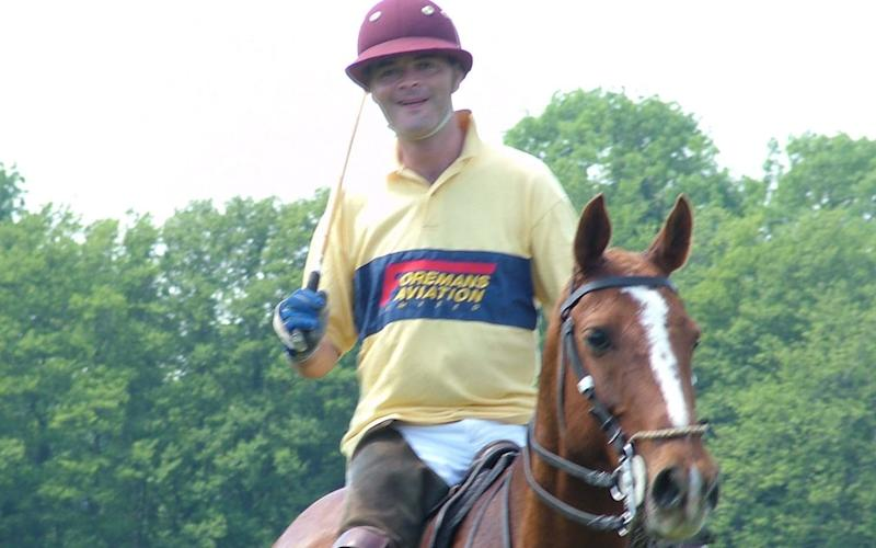 Philipps is known to enjoy polo