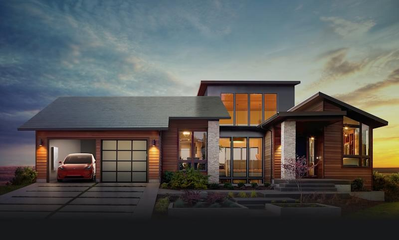 Tesla's solar roof that has failed to live up to expectations.