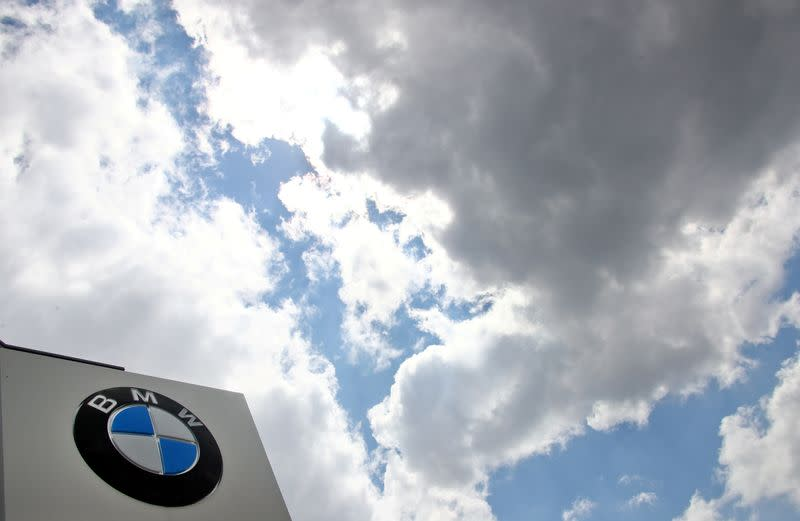 FILE PHOTO: The headquarters of German luxury carmaker BMW is seen in Munich