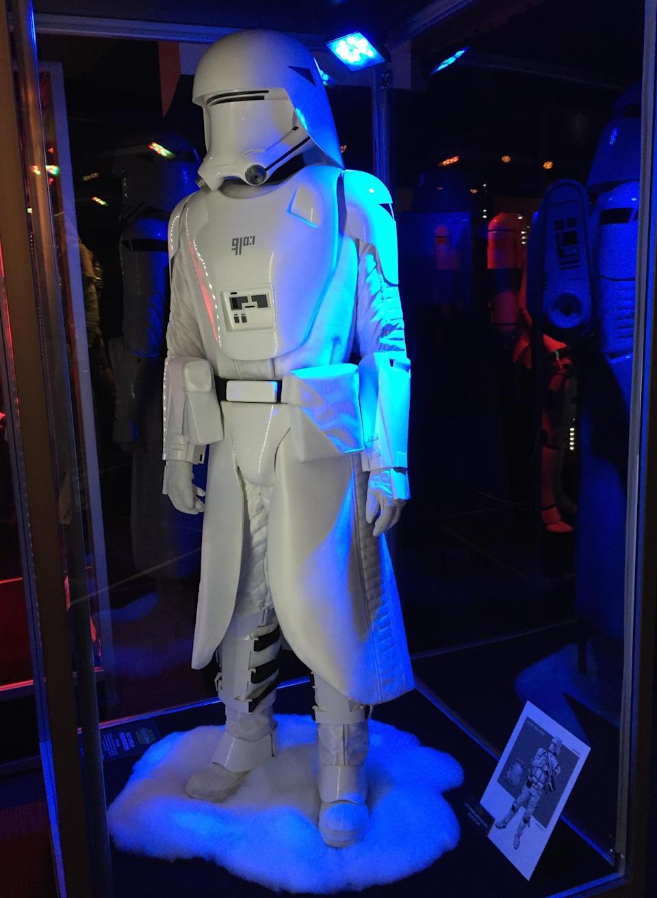 """<p>From the official description: """"The latest generation of cold-weather assault Stormtroopers, Snowtroopers wear advanced insulated armor and helmets that reduce the glare of icy terrains.""""</p>"""