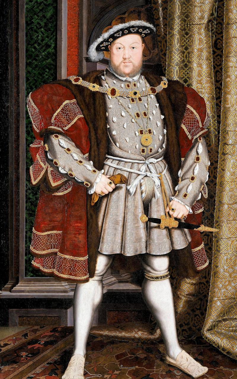 A portraiture of Henry VIII by the workshop of Hans Holbein the Younger 1497/1498 - Credit: Niday Picture Library/Alamy