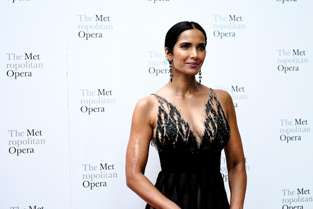 """Padma Lakshmi was among those calling out the """"Dear Abby"""" advice. (Photo: Sean Zanni/Patrick McMullan via Getty Images)"""