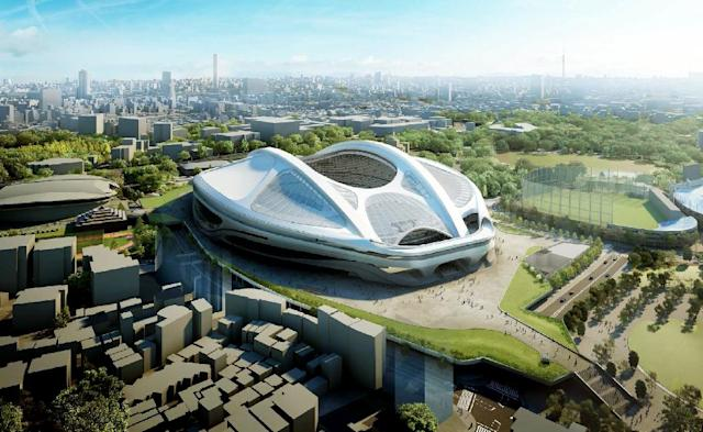 Japan pulled the plug on Zaha Hadid's design for the for the 2020 Olympic Stadium after the price tag ballooned to more than $2 billion (AFP Photo/)