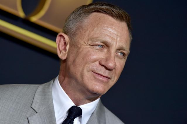 "WESTWOOD, CALIFORNIA - NOVEMBER 14: Daniel Craig attends the Premiere of Lionsgate's ""Knives Out"" at Regency Village Theatre on November 14, 2019 in Westwood, California. (Photo by Axelle/Bauer-Griffin/FilmMagic)"