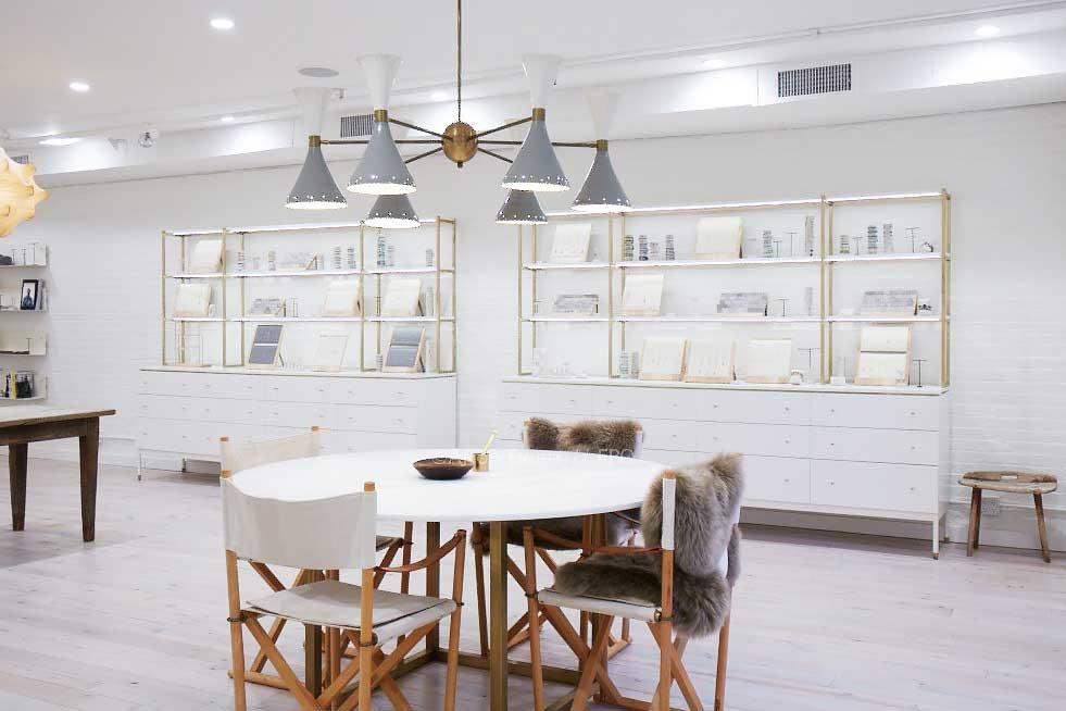 <p>The store incorporates Tai's own passion for architecture and design where she tightly curates every item. (Photo: courtesy of Tai Jewelry) </p>