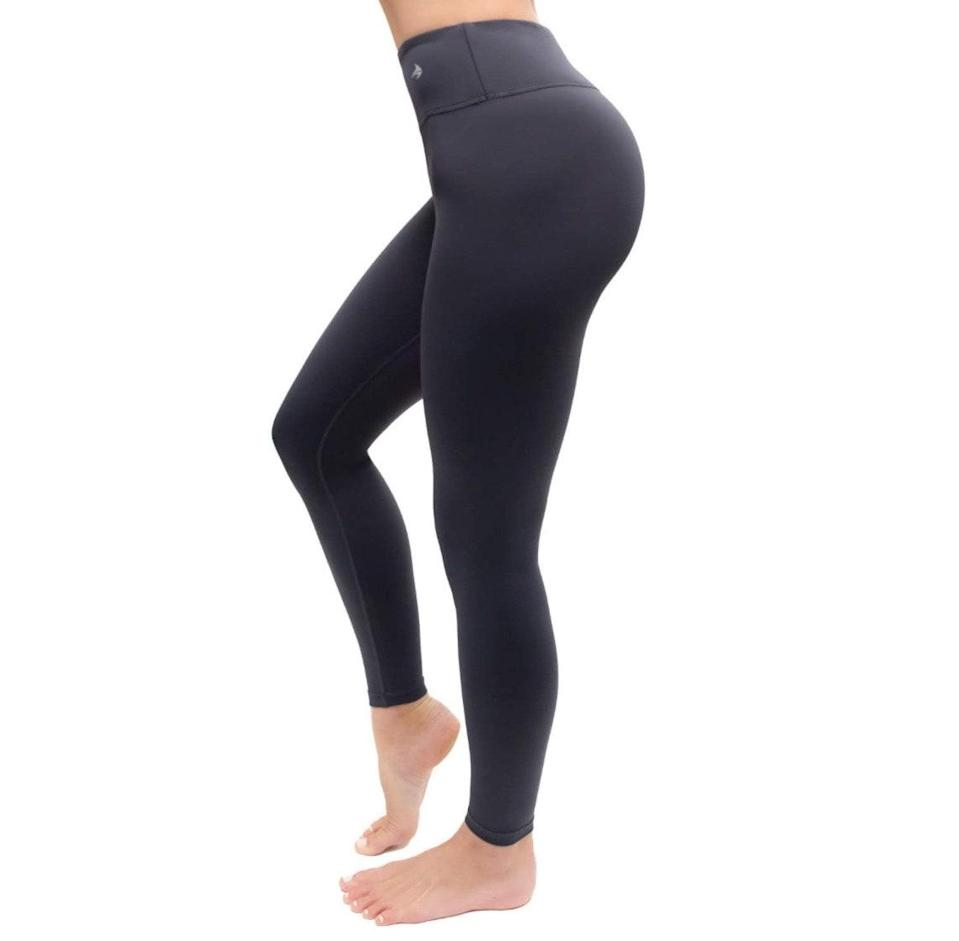 """<p><strong>Reviews & rating:</strong> 7,702 reviews, 4.3 out of 5 stars.</p> <p><strong>Key selling points:</strong> These compression leggings are perfect for running, weight-lifting, cycling, yoga — you name it. Reviewers love the gentle yet supportive compression and swear by the opaque, squat-proof material. </p> <p><strong>What customers say:</strong> """"These are AMAZING. They are soft, extremely comfortable, and they don't stretch out. They're compression pants, not lounge pants! They're still opaque no matter how far I stretch them, which is just magic to me. Cannot beat it for the price. I want two in every color."""" —<a href=""""https://amzn.to/2OWwQFE"""" rel=""""nofollow noopener"""" target=""""_blank"""" data-ylk=""""slk:Vanessa"""" class=""""link rapid-noclick-resp""""><em>Vanessa</em></a><em>, reviewer on Amazon</em></p> $36, Amazon. <a href=""""https://www.amazon.com/CompressionZ-Womens-Compression-Pants-Black/dp/B073R53CJ6/ref="""" rel=""""nofollow noopener"""" target=""""_blank"""" data-ylk=""""slk:Get it now!"""" class=""""link rapid-noclick-resp"""">Get it now!</a>"""