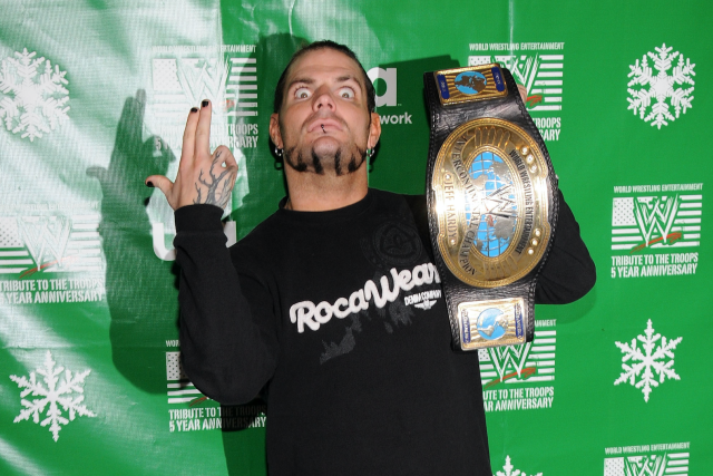 Jeff Hardy. (Getty Images)