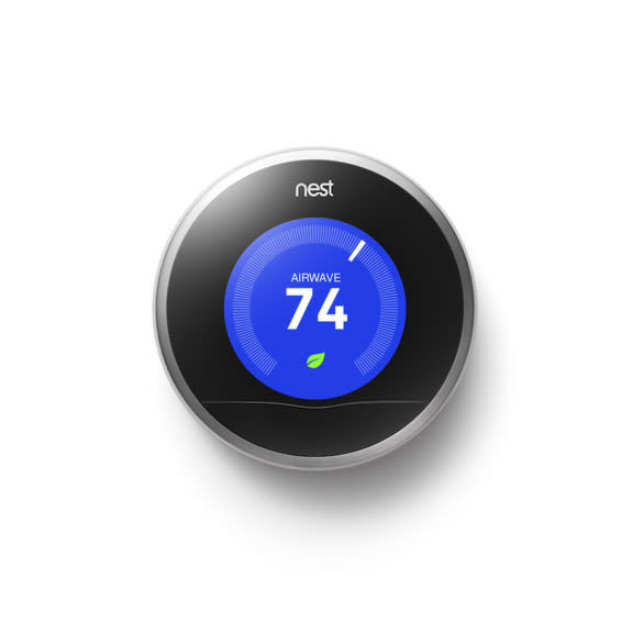 Smart thermostats, like Nest, remember your favorite temperatures and automatically adjust to your needs throughout the day.