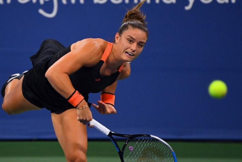 Serena stunned by Sakkari at Western and Southern Open