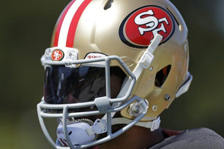 Colin Kaepernick might not make the 49ers' 53-man roster. (AP)