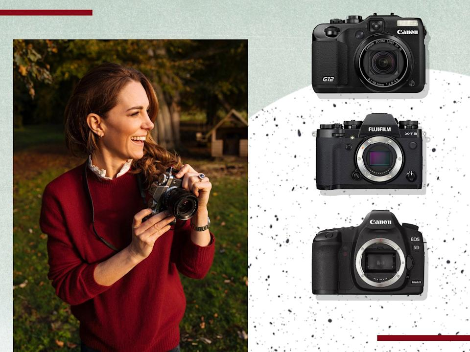 Kate takes pictures with cameras made by these trusted brands (PA/The Independent )