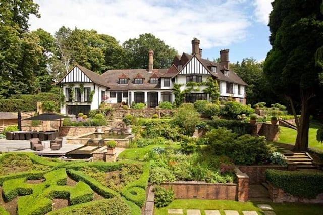 The house once owned by John Lennon