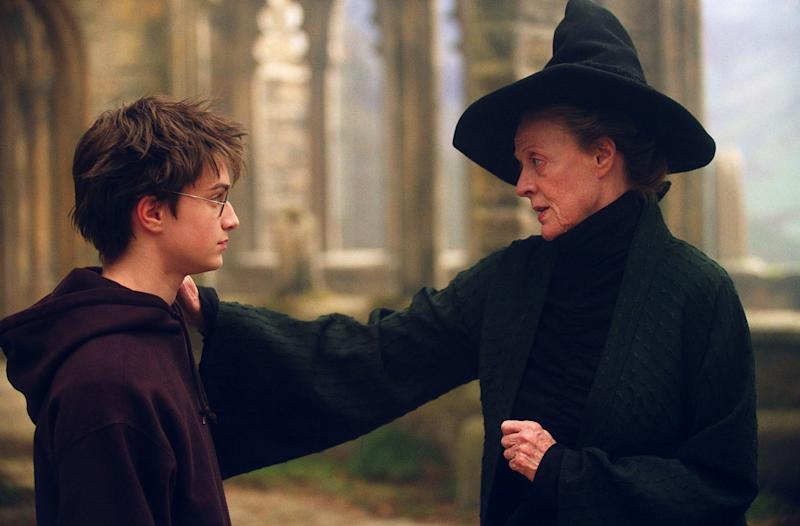 """Daniel Radcliffe reprises his role as a young sorcerer with Maggie Smith returning as one of his professors at Hogwarts School in """"Harry Potter and the Prisoner of Azkaban,"""" pictured in an undated publicity photo. The third in the """"Harry Potter"""" series will be in theaters this summer. (AP Photo/Warner Bros.)"""