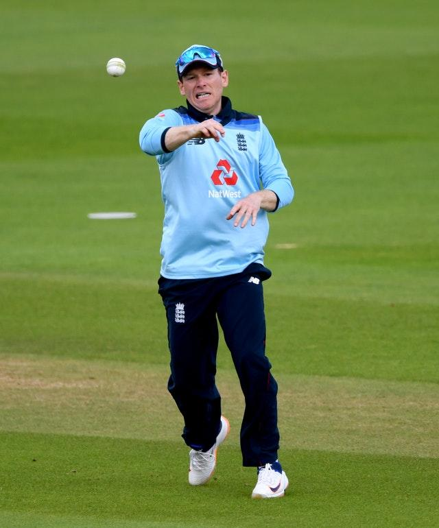 Eoin Morgan wants England to make good use of a turning wicket in Manchester