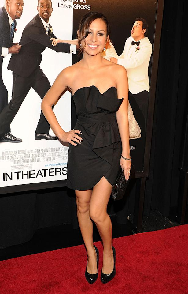 """Angelah Johnson at the New York City premiere of <a href=""""http://movies.yahoo.com/movie/1810093971/info"""">Our Family Wedding</a> - 03/09/2010"""