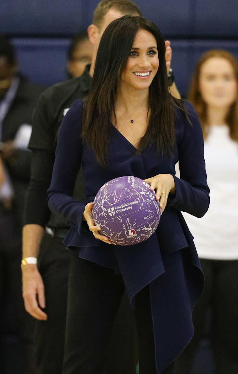 The Duchess of Sussex attends the Coach Core Awards at Loughborough University.<i></i><i></i> (PA Wire/PA Images)