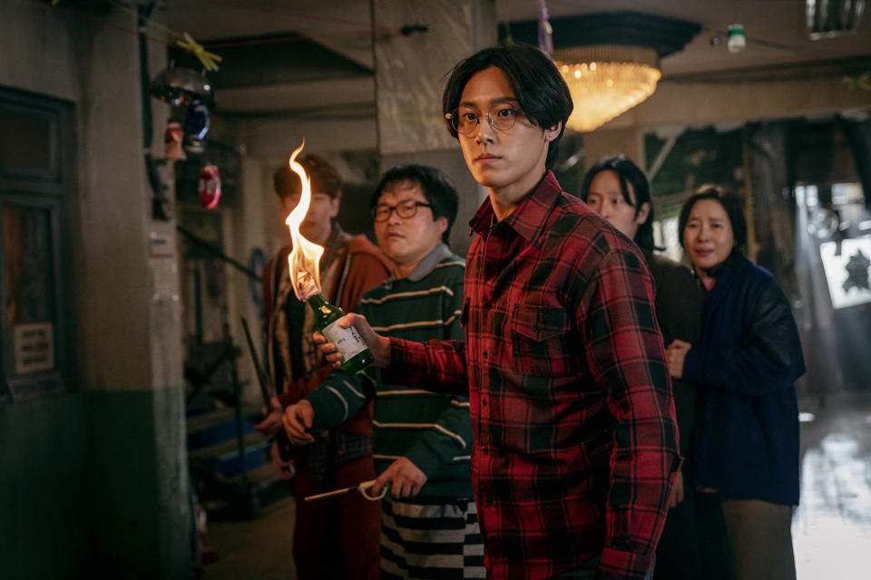 Lee Do Hyun in Sweet Home, a gory and thrilling 10-part Korean series adaptation of a popular dystopian-zombie webtoon.