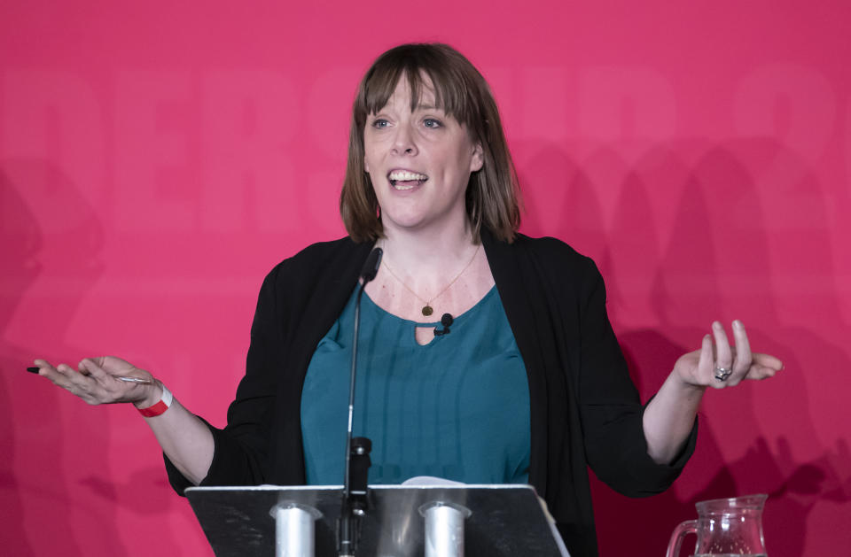 Jess Phillips during the Labour leadership husting at the ACC Liverpool. (Photo by Danny Lawson/PA Images via Getty Images)