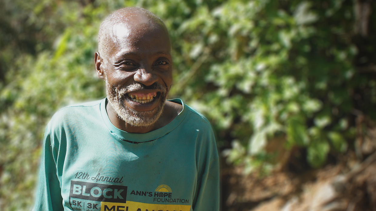 When his neighbors needed a better way to get to town, Nicholas used tools from his farm to build a road for them.