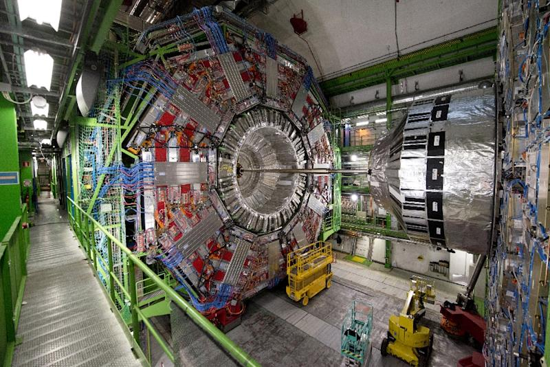 The problem for CERN scientists is that matter and anti-matter cannot exist together (AFP Photo/Richard Juilliart)