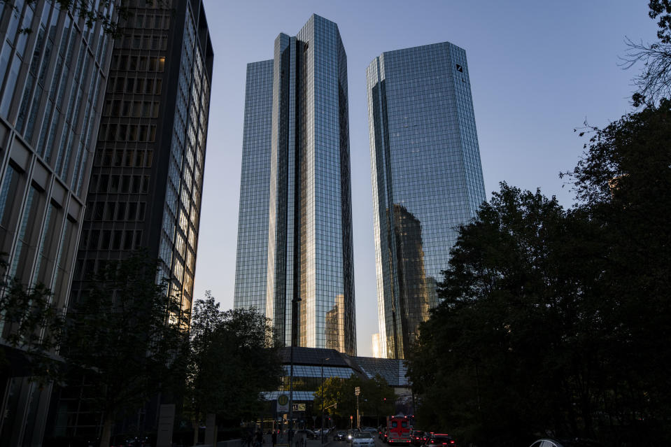 Deutsche Bank pictured in Frankfurt, Germany. Photo:Thomas Lohnes/Getty Images