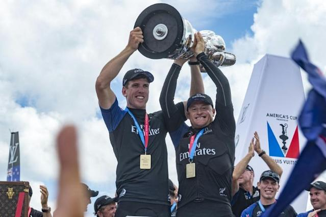 New Zealand will host the next America's Cup in Auckland in 2021 (AFP Photo/Chris CAMERON)