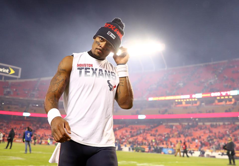 The legal defense for Texans quarterback Deshaun Watson is slowly taking shape. (Mark J. Rebilas-USA TODAY Sports)