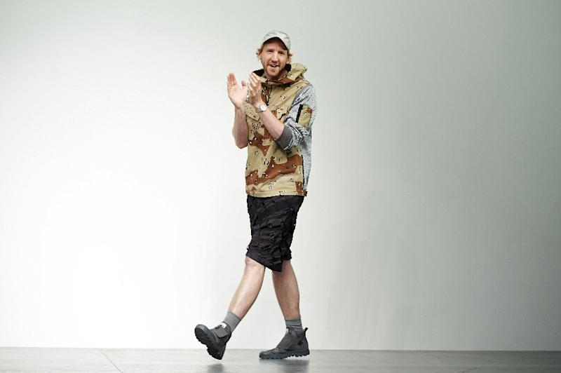 British designer Christopher Raeburn has made a name for himself with streetwear fit for environmentally-aware buyers