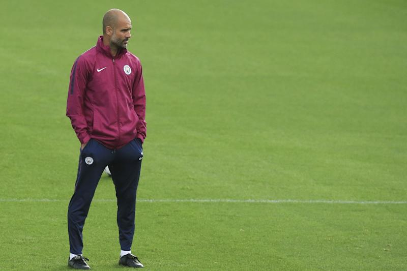 Master class | Pep Guardiola will entertain the London Irish coaching staff ahead of their clash at Sale on Friday: AFP/Getty Images