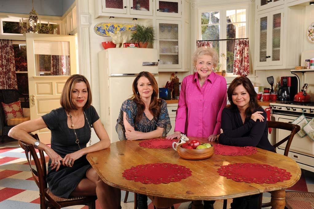 """The cast of """"Hot In Cleveland."""""""