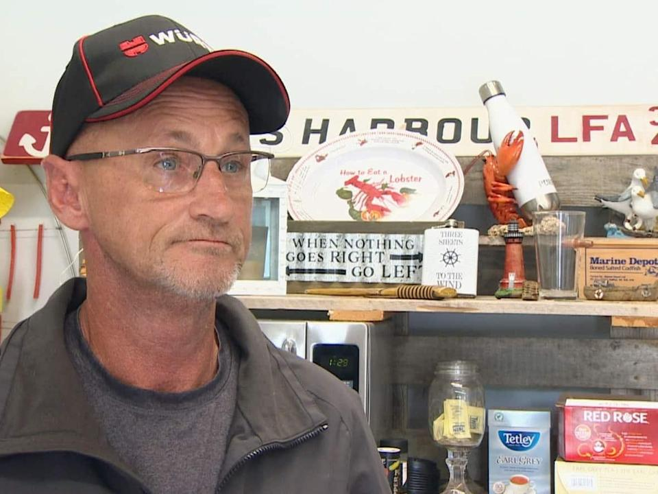 Travis Nickerson of Clarks Harbour, N.S., no longer has the COVID-19 federal relief money to give back, and says he now regrets taking it. (CBC - image credit)