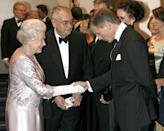 <p>Queen Elizabeth also met Daniel Craig at a Bond premiere. The pair both attended the debut of <em>Casino Royale</em> at London's Odeon cinema. </p>