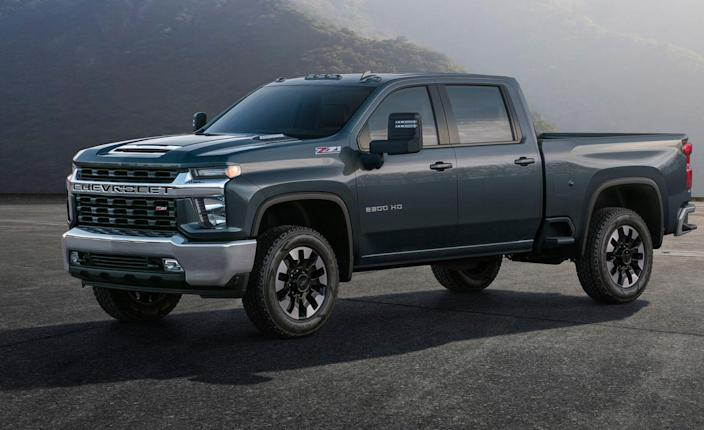 """<p>Chevrolet has released the first images and details of <a rel=""""nofollow noopener"""" href=""""https://www.caranddriver.com/chevrolet/silverado-2500hd"""" target=""""_blank"""" data-ylk=""""slk:the 2020 Silverado HD"""" class=""""link rapid-noclick-resp"""">the 2020 Silverado HD</a>, and the brand says that the new heavy-duty trucks will be """"the most capable and most advanced"""" ever. </p>"""