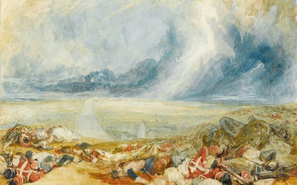 'Modern times': The Field of Waterloo (c 1817) - Amy Jugg/Fitzwilliam Museum