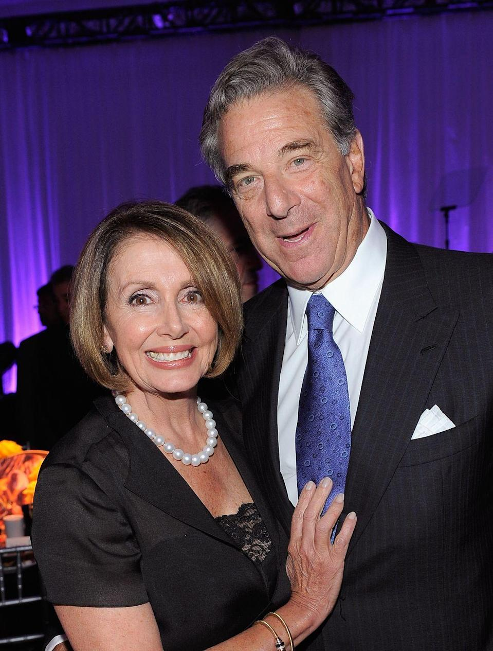 <p>Nancy and Paul Pelosi attend Tony Bennett's 85th Birthday Gala Benefit for Exploring the Arts in New Y0rk.</p>