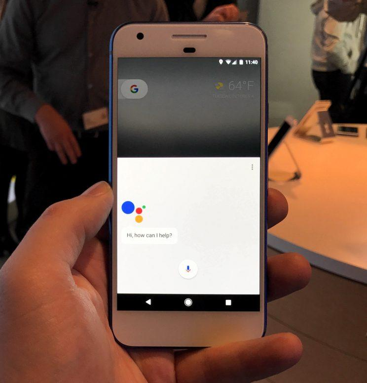 Google's new Google Assistant.