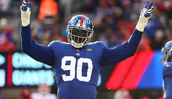 NFL: Buccaneers traden für Giants-Pass-Rusher Jason Pierre-Paul